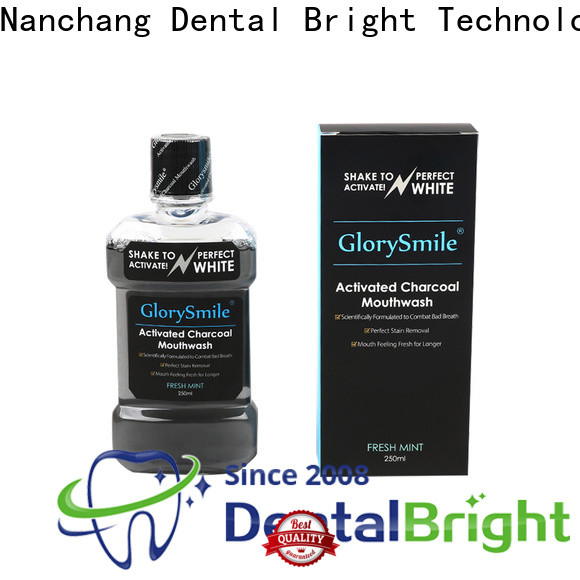 GlorySmile mild natural mouthwash inquire now for dental bright