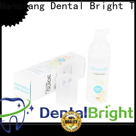 GlorySmile teeth whitening foam wholesale for home usage