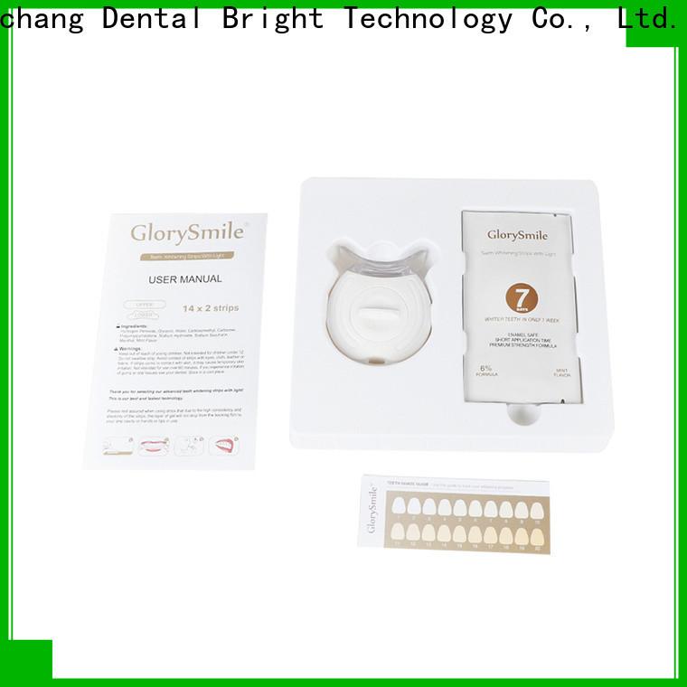 GlorySmile 3D 3d white teeth whitening strips vendor for whitening teeth