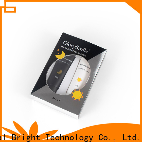 GlorySmile charcoal whitening toothpaste inquire now