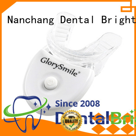 GlorySmile teeth whitening led light manufacturer from China for home usage