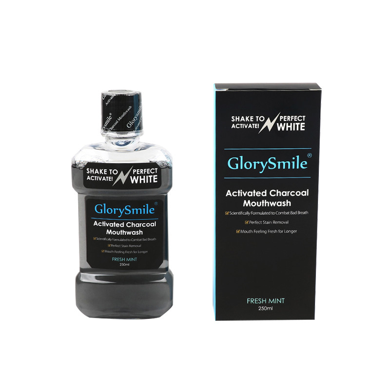 Organic Activated Charcoal Mouthwash