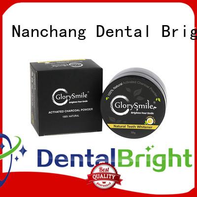 GlorySmile charcoal teeth whitening powder order now for whitening teeth