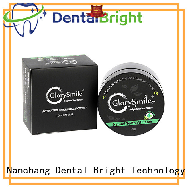 GlorySmile activated charcoal powder reputable manufacturer for whitening teeth