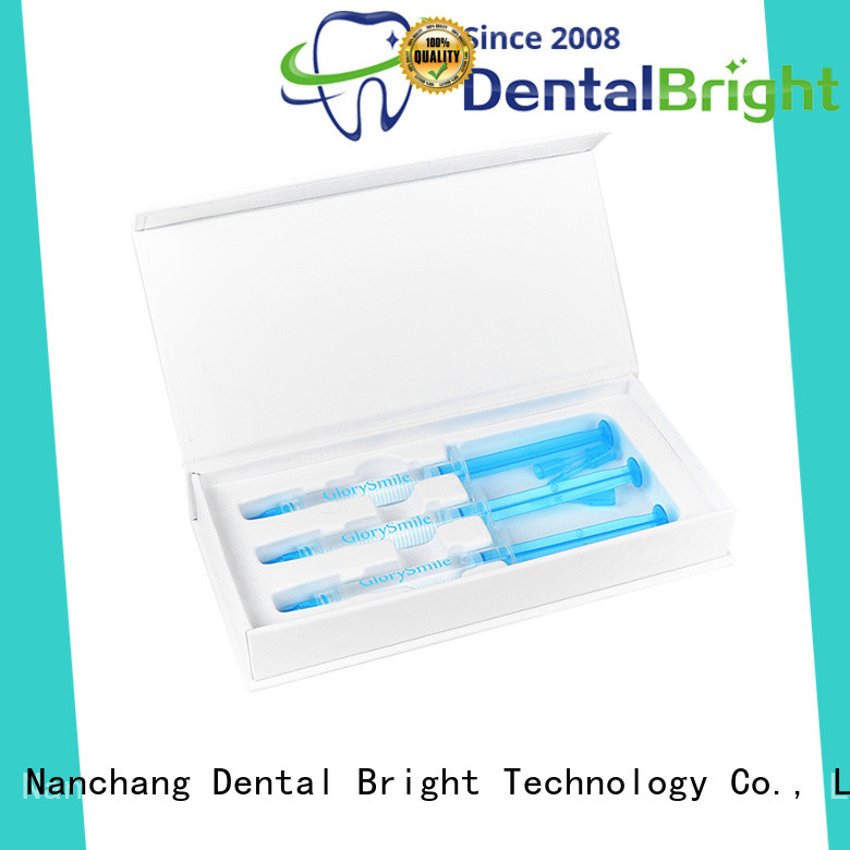GlorySmile teeth whitening gel reputable manufacture for whitening teeth