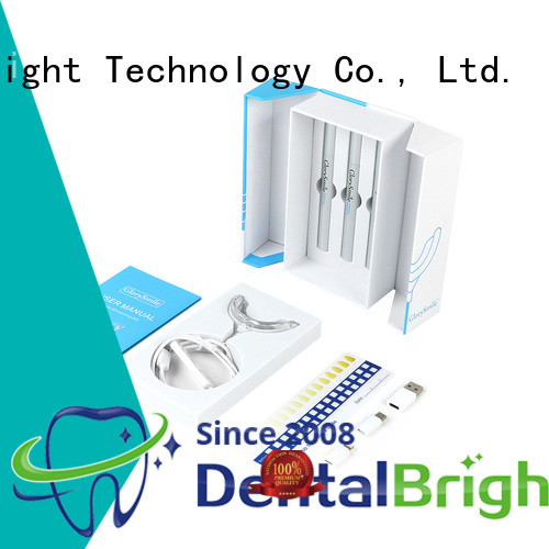 rechargeable home teeth whitening kit wholesale for whitening teeth