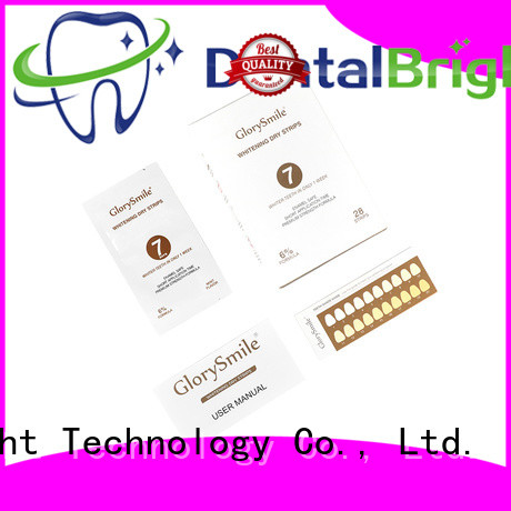 GlorySmile effective best whitening strips vendor for home usage