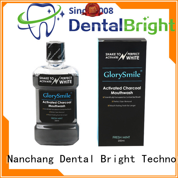 GlorySmile mild natural mouthwash supplier for dental bright