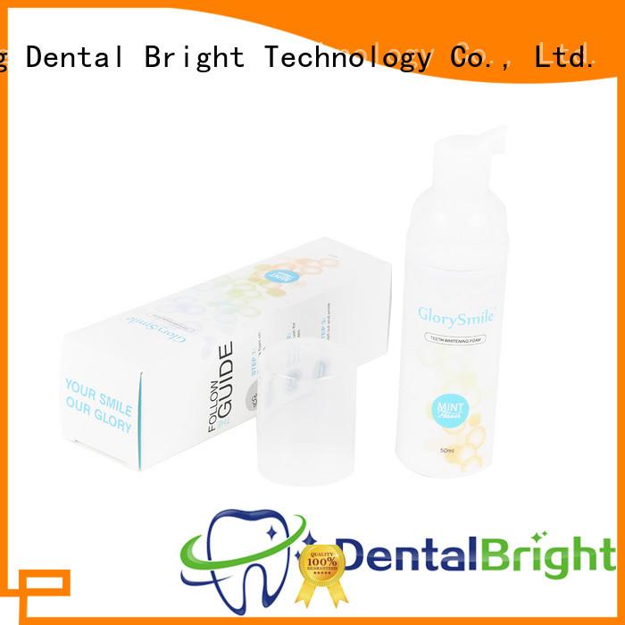 GlorySmile healthy teeth whitening foam wholesale for teeth