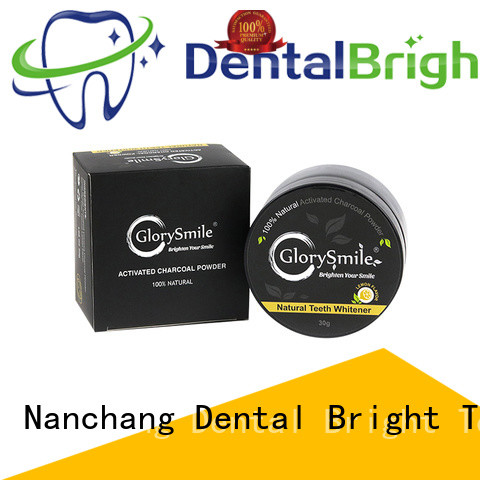 GlorySmile activated charcoal powder order now for dental bright