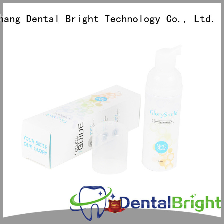 GlorySmile natural mouthwash inquire now for dental bright