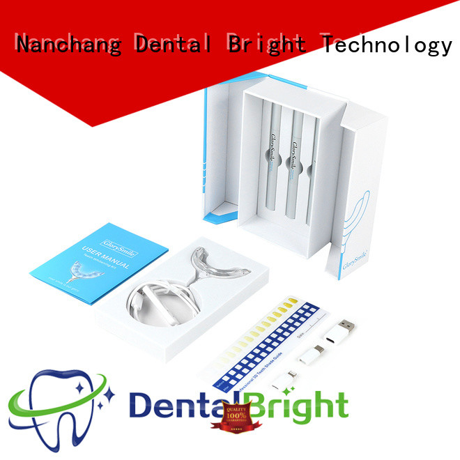 GlorySmile rechargeable home teeth whitening kit supplier for teeth