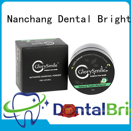 good selling charcoal teeth whitening powder reputable manufacturer for dental bright