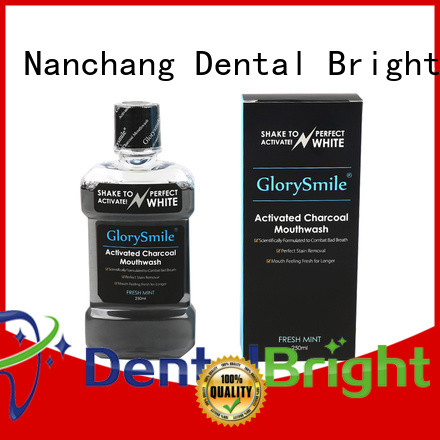 GlorySmile mild natural mouthwash inquire now for dental bright