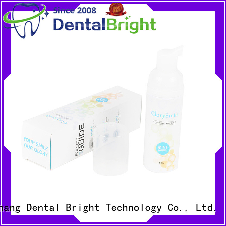 GlorySmile natural mouthwash inquire now for whitening teeth