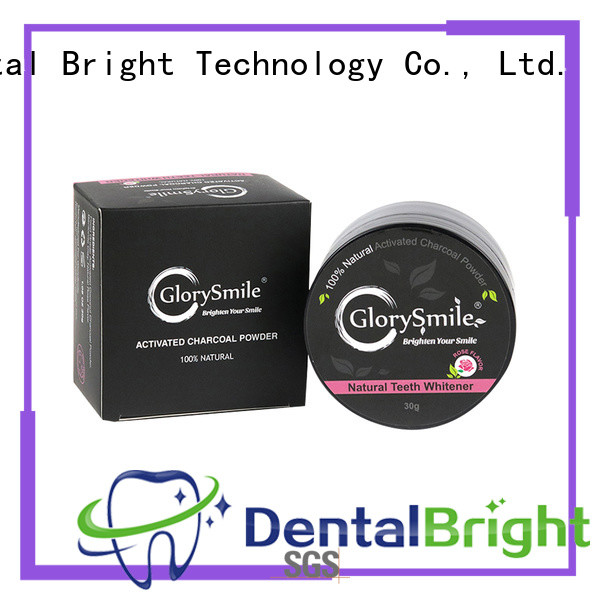 GlorySmile instant activated charcoal powder reputable manufacturer for whitening teeth