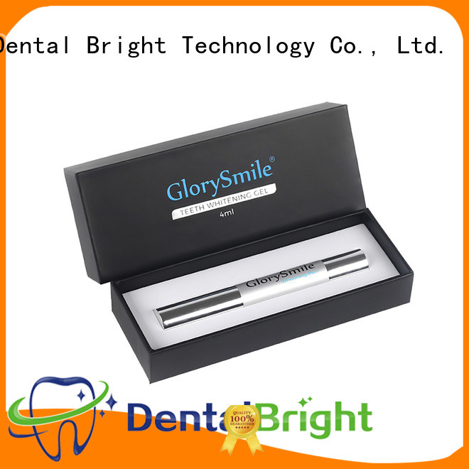 GlorySmile oem best teeth whitening pen factory price for teeth
