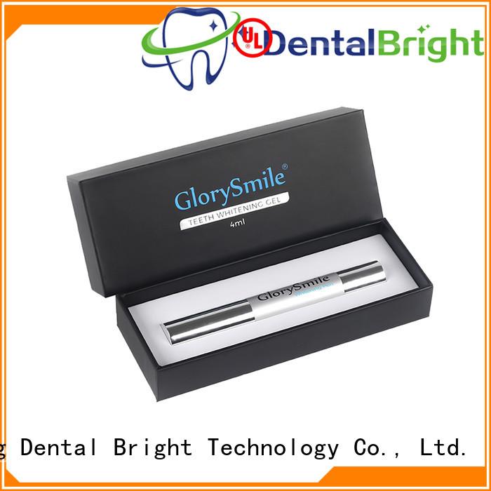 GlorySmile best teeth whitening pen factory price for teeth