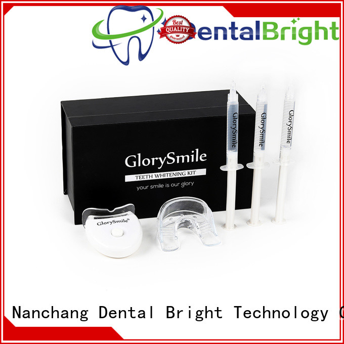 GlorySmile home teeth whitening kit inquire now
