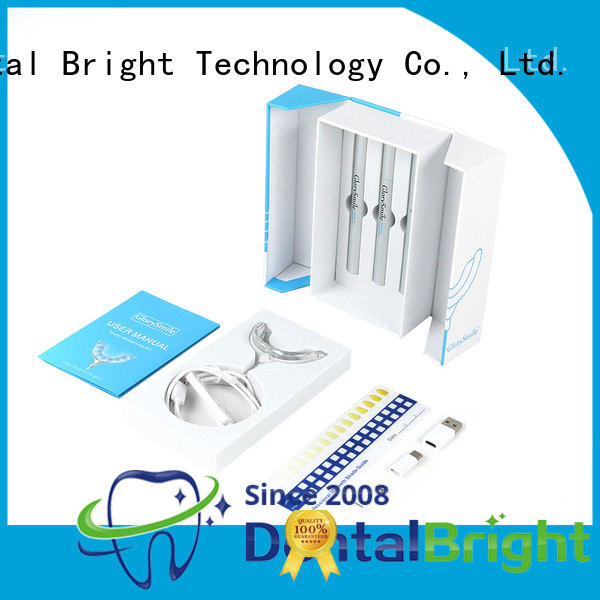 GlorySmile rechargeable best teeth whitening kit supplier for whitening teeth