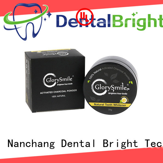 GlorySmile instant activated charcoal powder reputable manufacturer for home usage