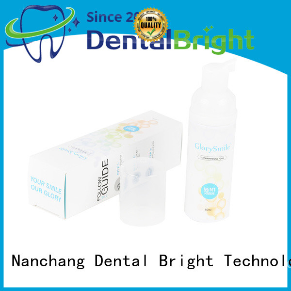GlorySmile teeth whitening foam wholesale for teeth