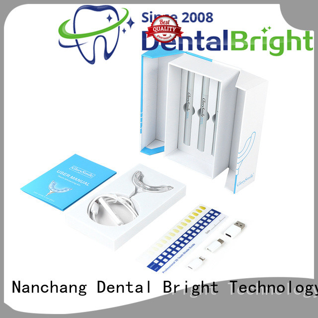 rechargeable home teeth whitening kit supplier