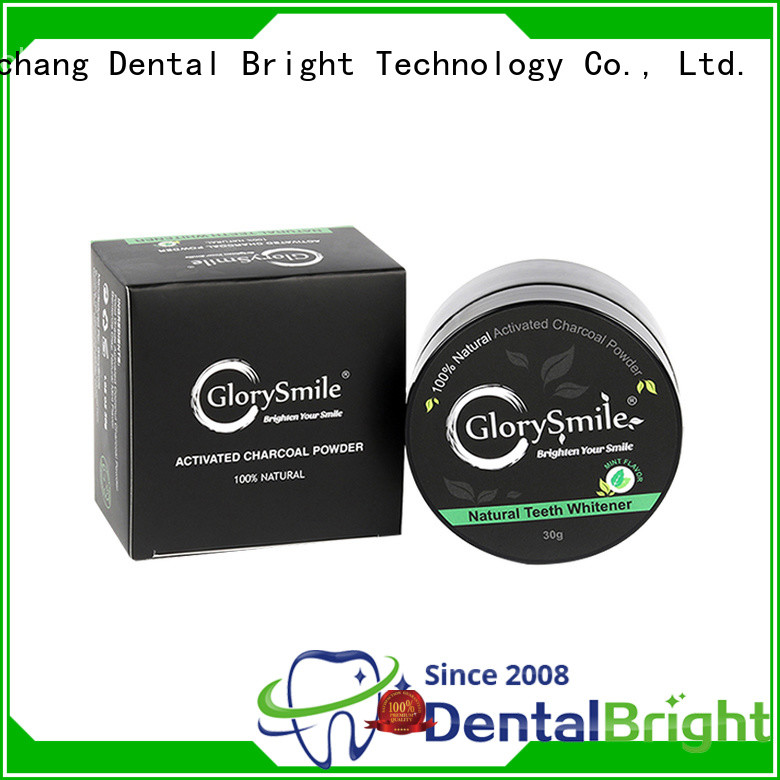instant charcoal teeth whitening powder from China for teeth