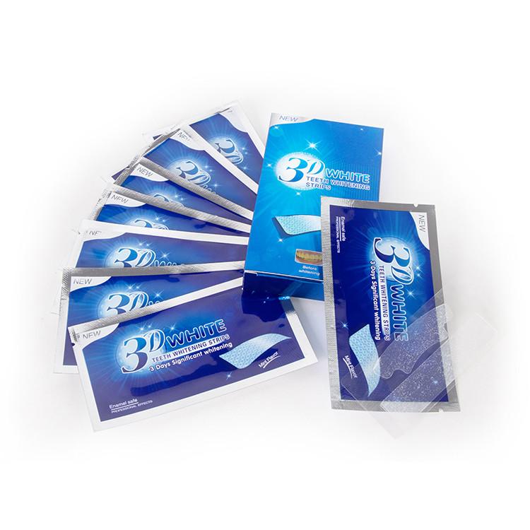 Glorysmile Teeth Whitening Strips Wholesale No Slip White Active Oxygen Peroxide Bleaching Gel Whitening Strips