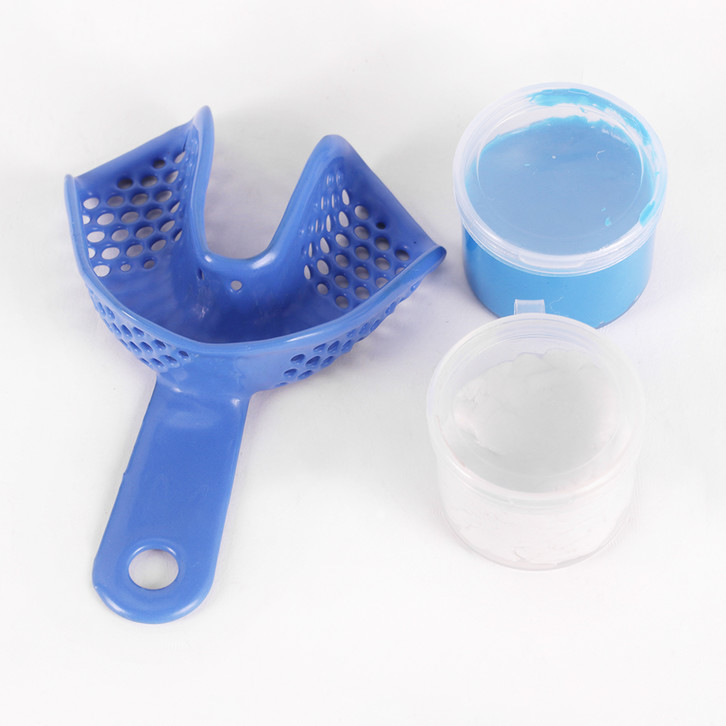 Silicone rubber impression material